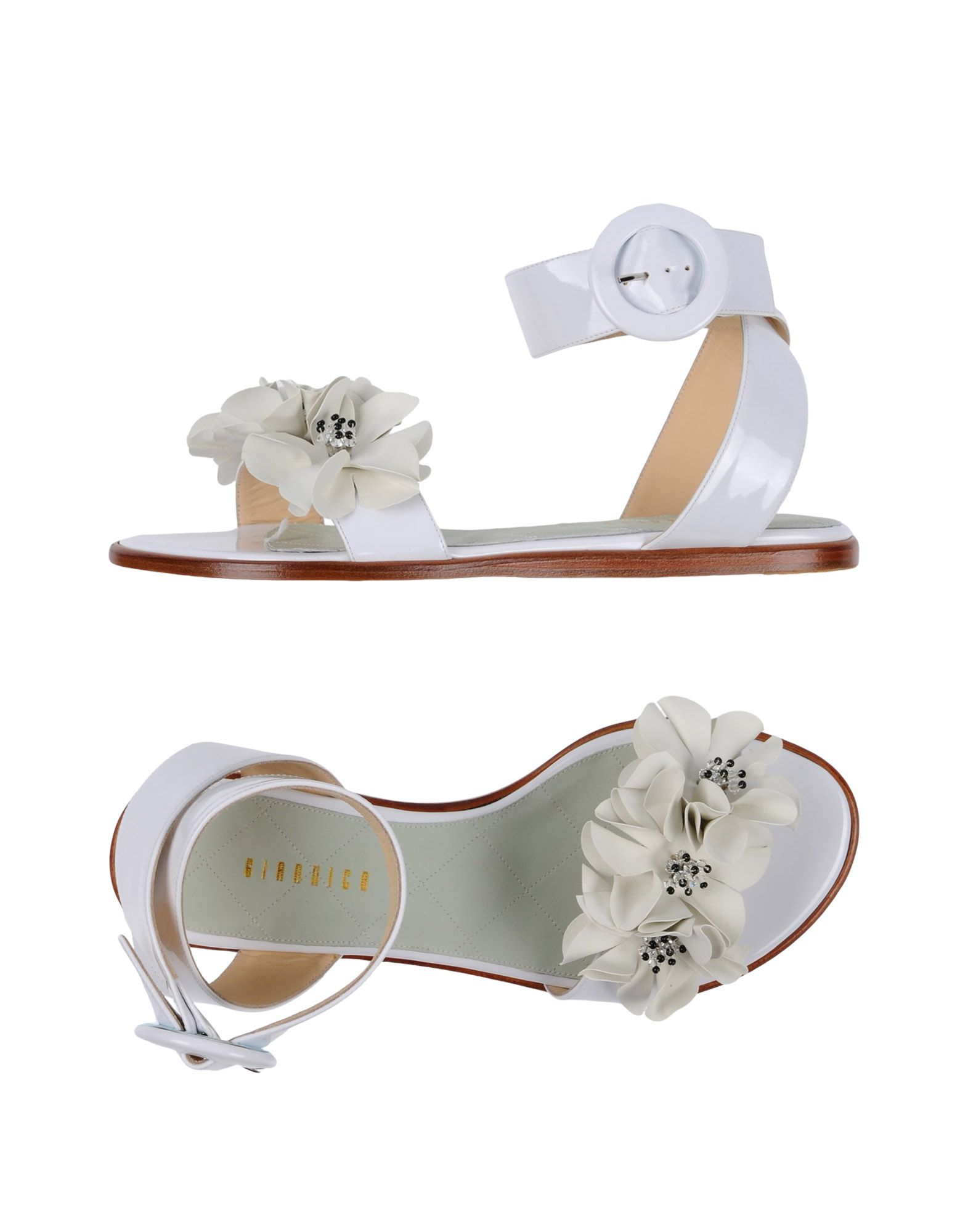 GIANNICO Sandals in White