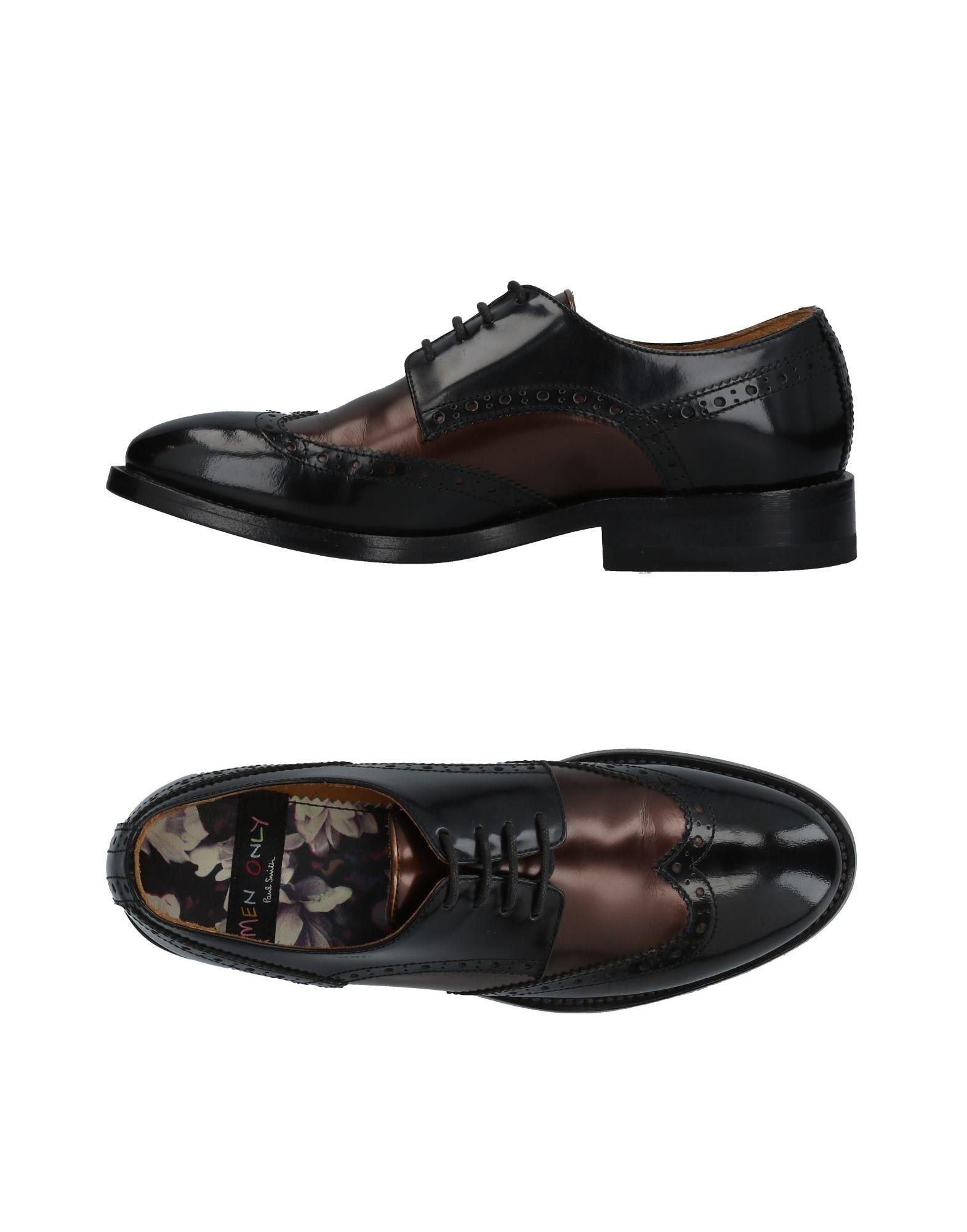 MEN ONLY PAUL SMITH Обувь на шнурках men only paul smith полусапоги и высокие ботинки