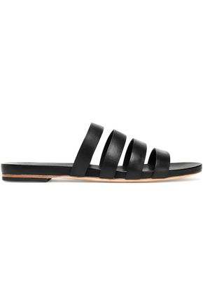 LOEFFLER RANDALL Leather slides