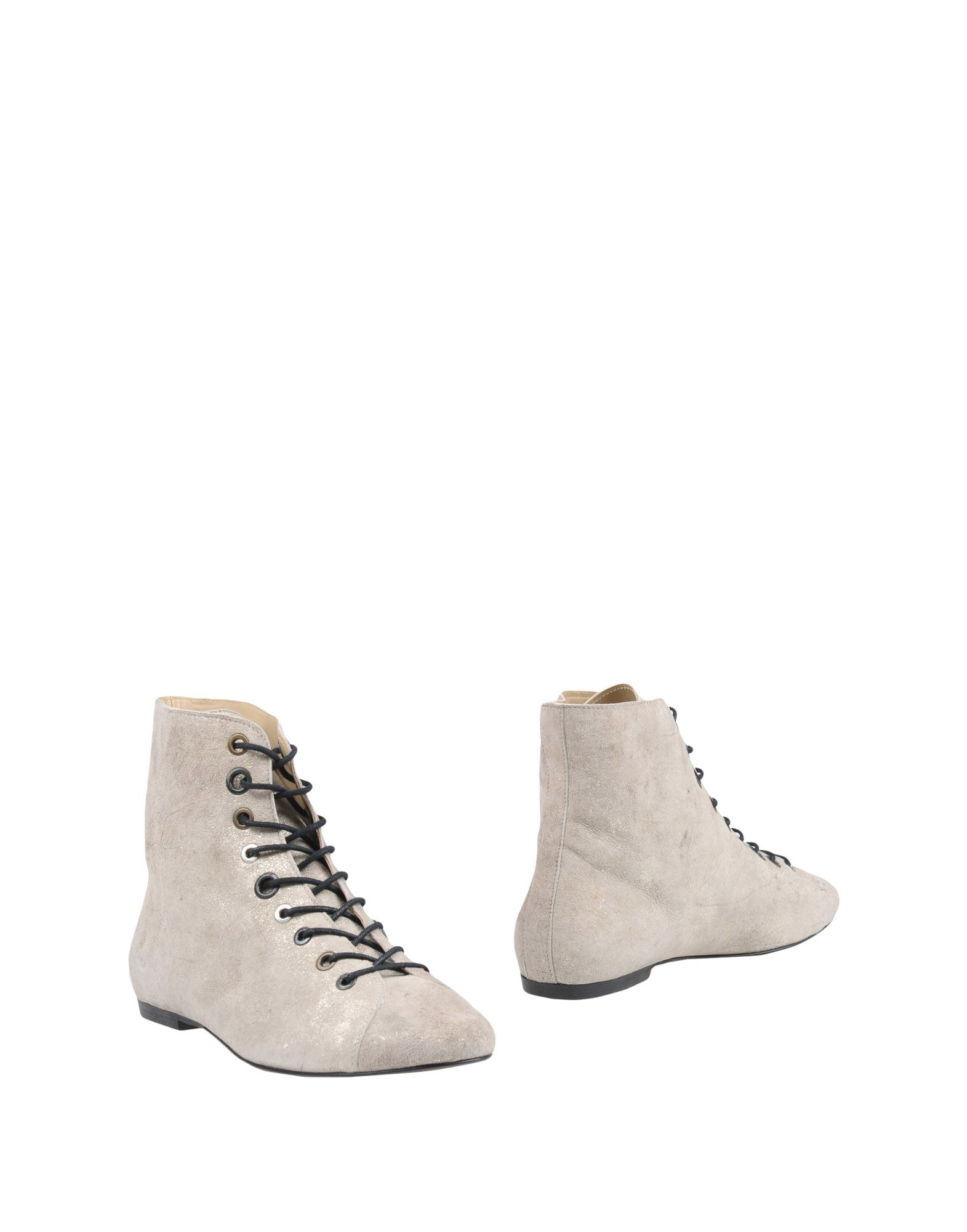 NUNC Ankle Boot in Light Grey