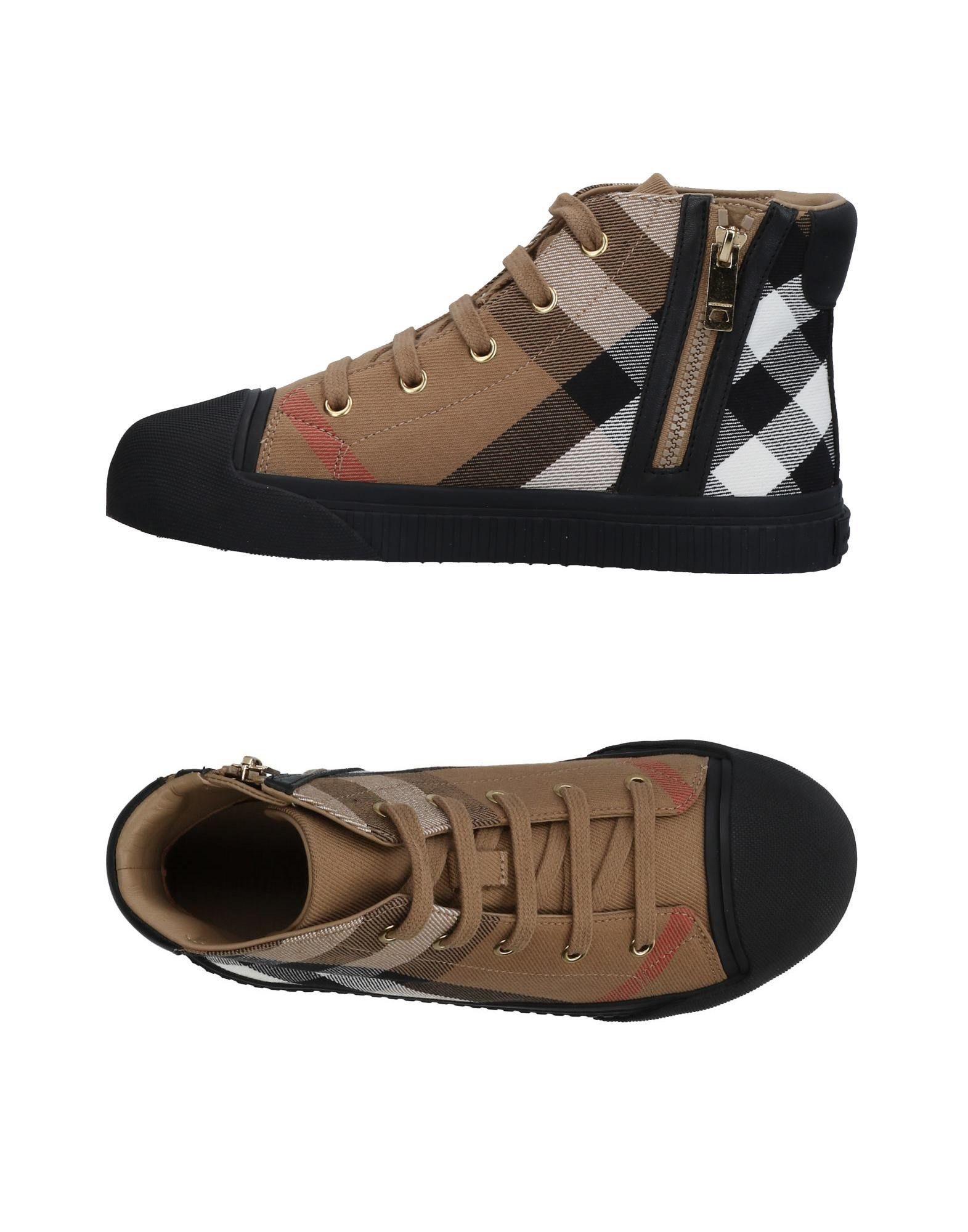 BURBERRY Высокие кеды и кроссовки pierre hardy высокие кеды и кроссовки