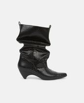 RUNWAY SNAKE-EMBOSSED BOOT