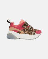 flatform leopard sneakers