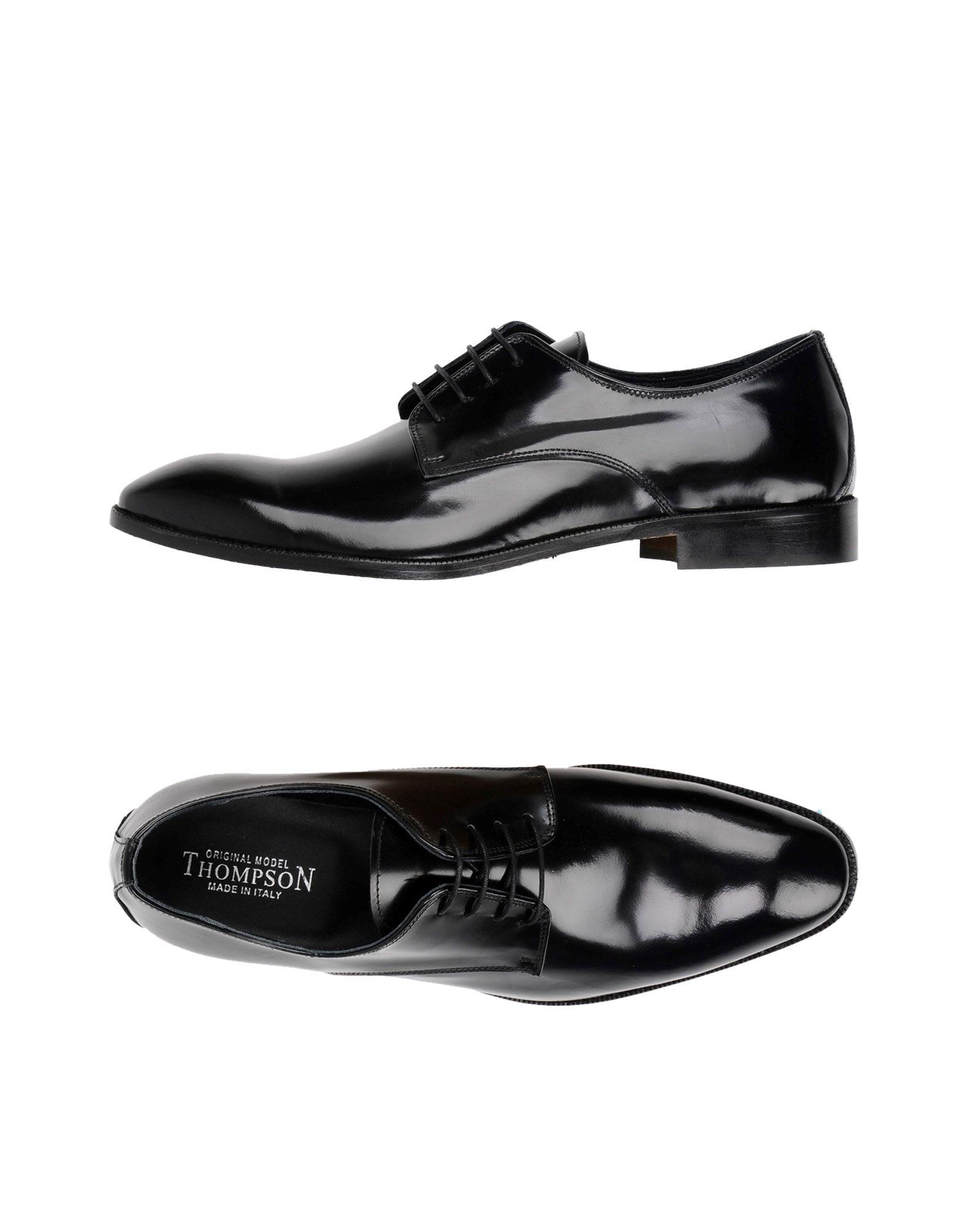 THOMPSON Обувь на шнурках thompson обувь на шнурках