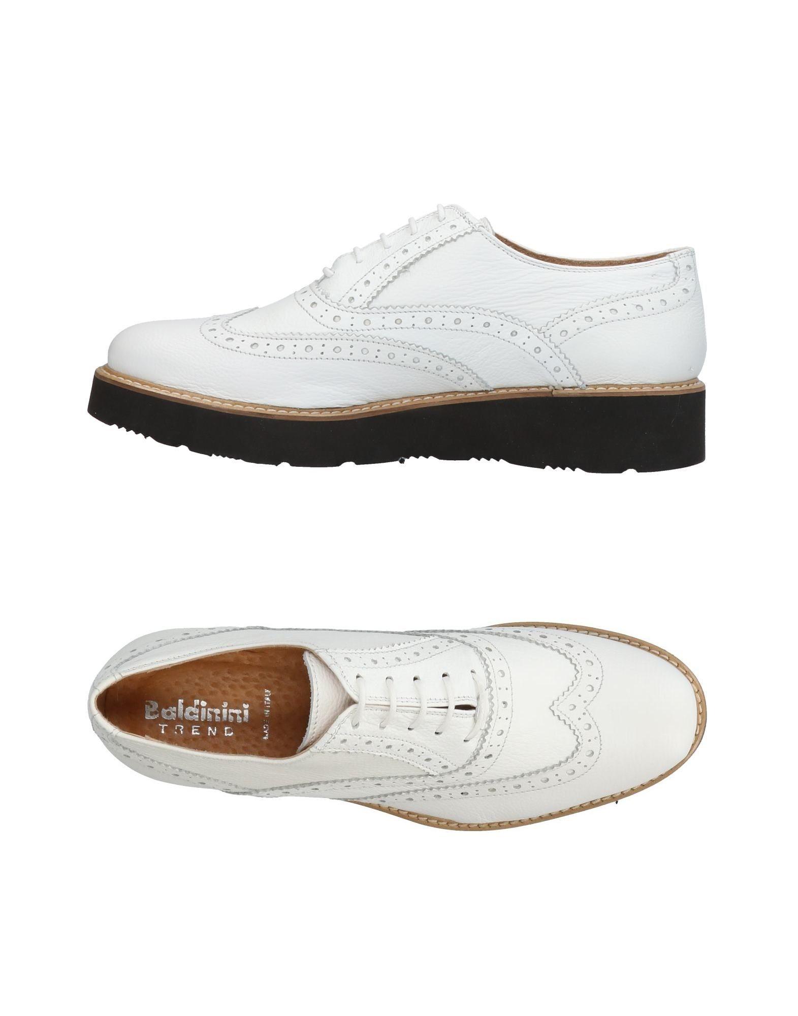 BALDININI TREND Обувь на шнурках baldinini удобные черные кроссовки с лакированным носком на шнурках от бренда baldinini