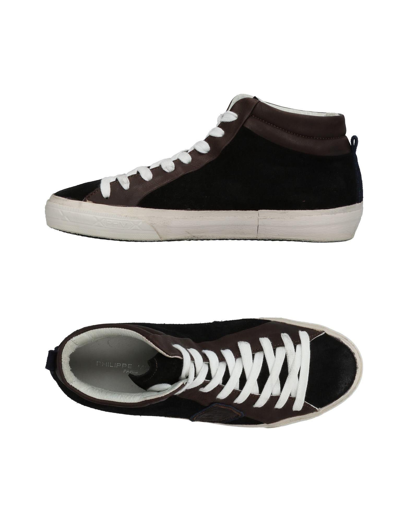 PHILIPPE MODEL Высокие кеды и кроссовки цены онлайн