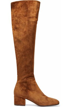 GIANVITO ROSSI Texas suede over-the-knee boots
