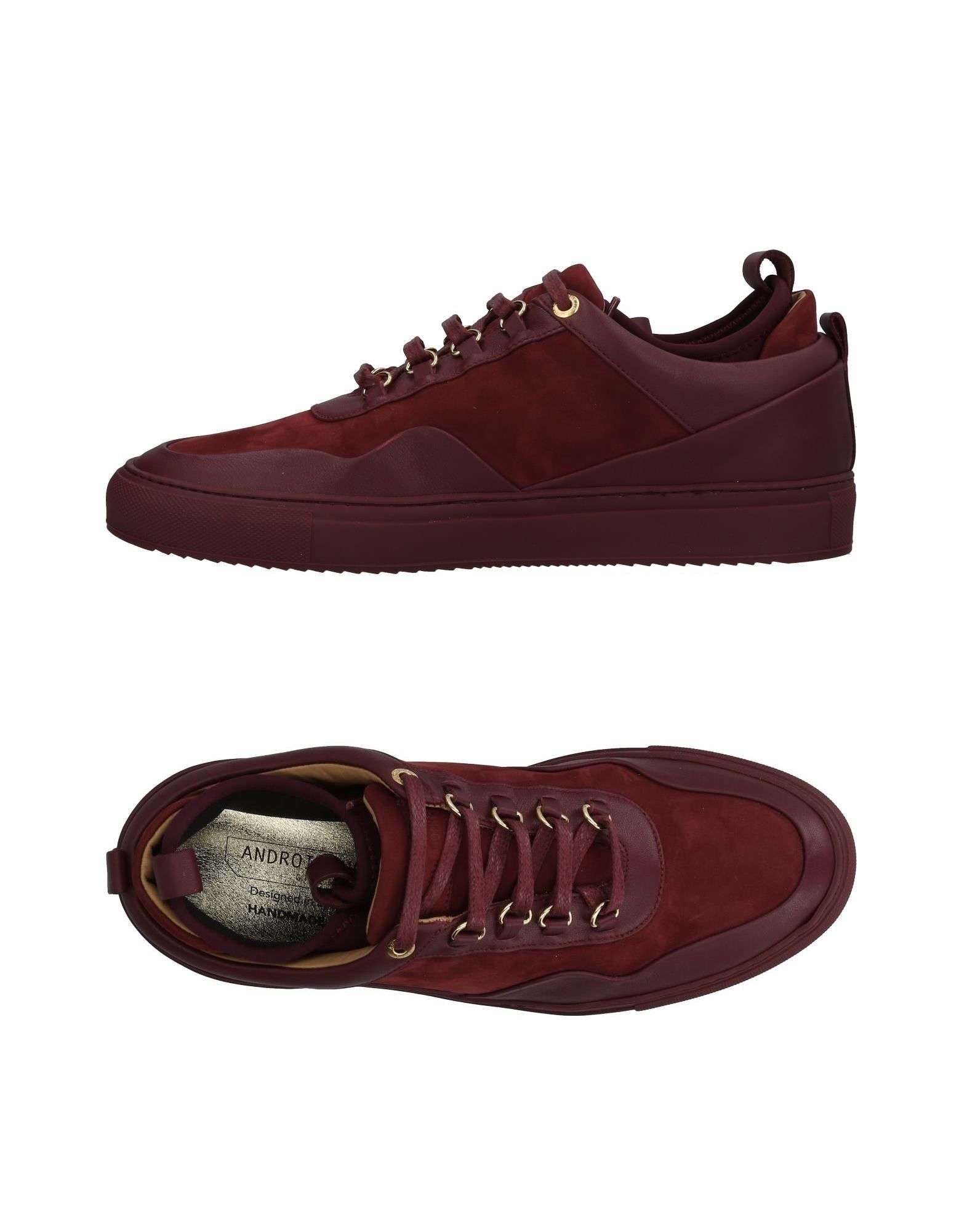 ANDROID HOMME Sneakers in Maroon