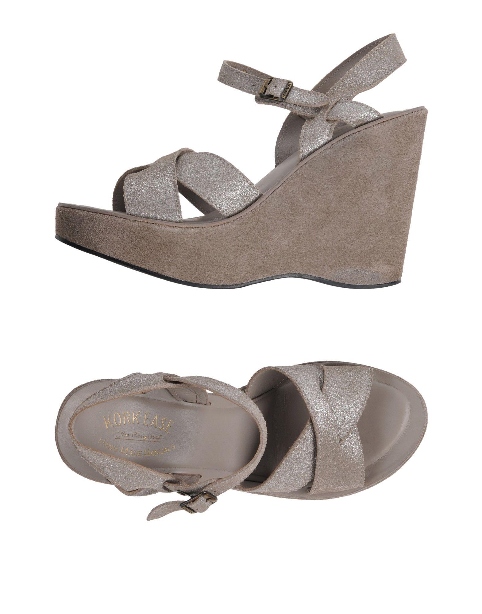 KORK-EASE Sandals in Grey