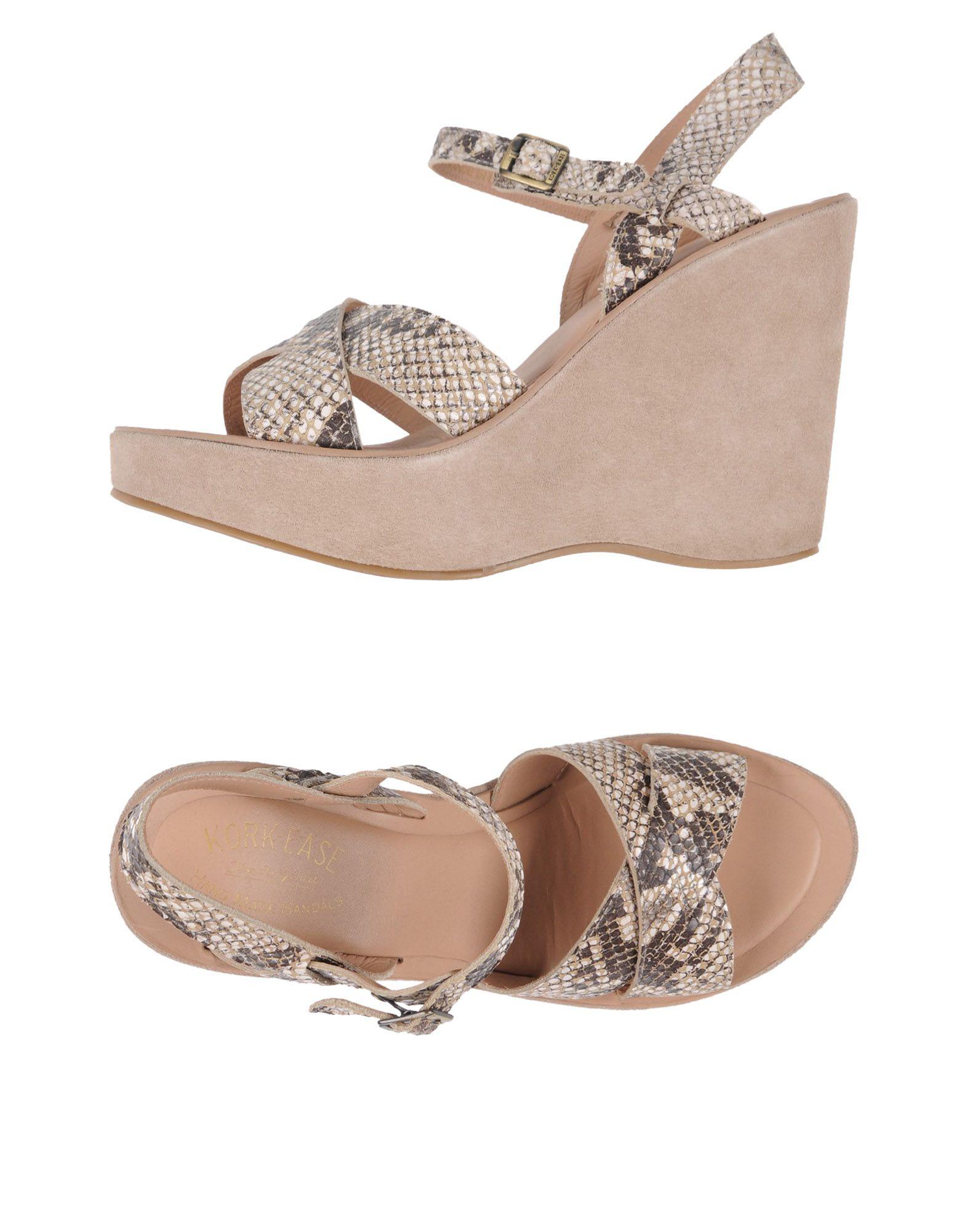 KORK-EASE Sandals in Khaki
