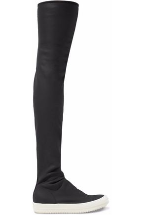 DRKSHDW by RICK OWENS Rubber thigh boots