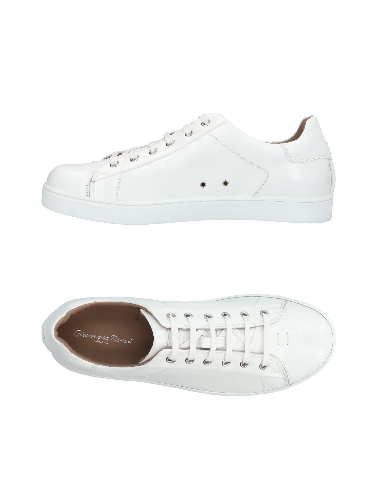 GIANVITO ROSSI Низкие кеды и кроссовки цены онлайн