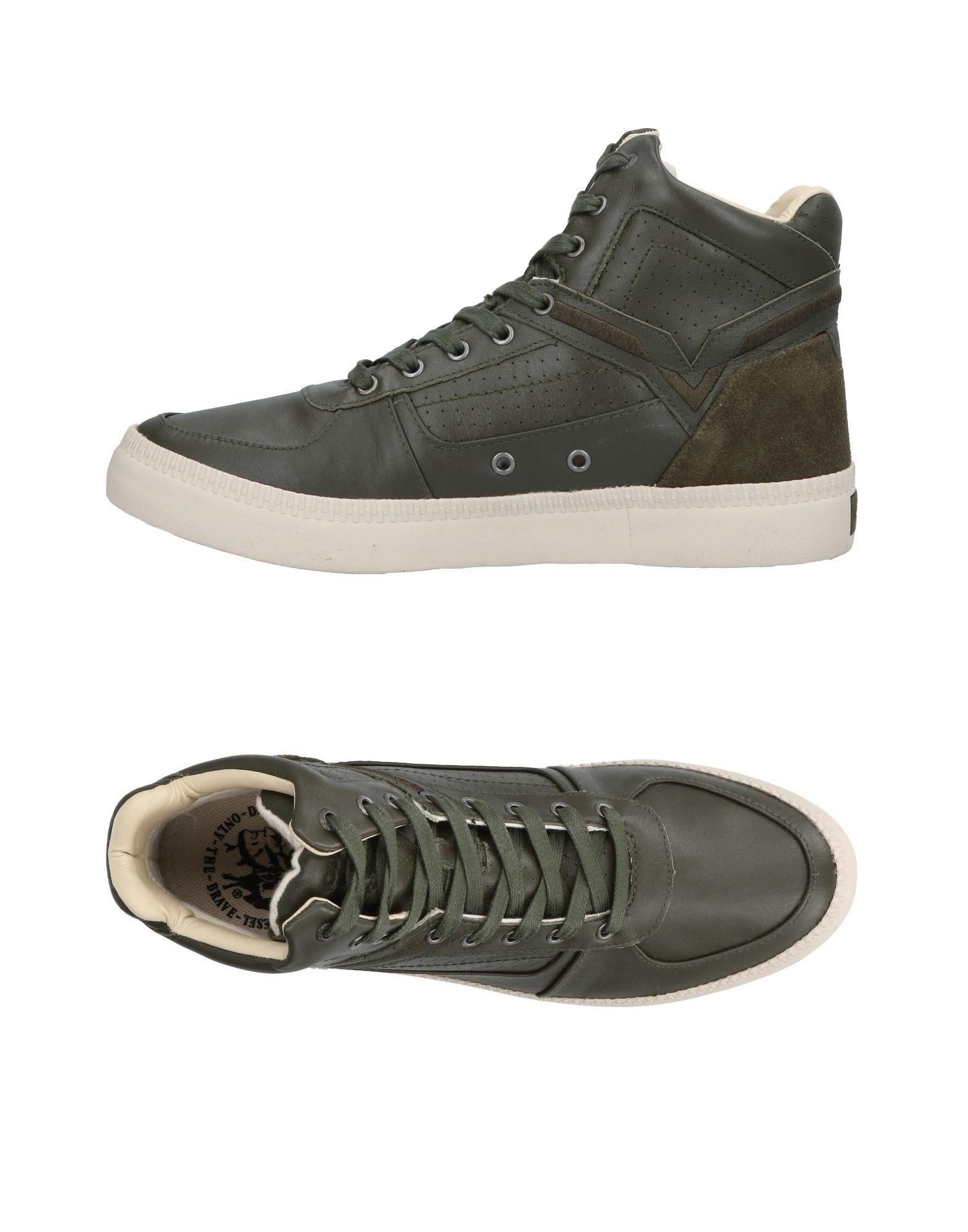 DIESEL Высокие кеды и кроссовки кроссовки diesel кроссовки