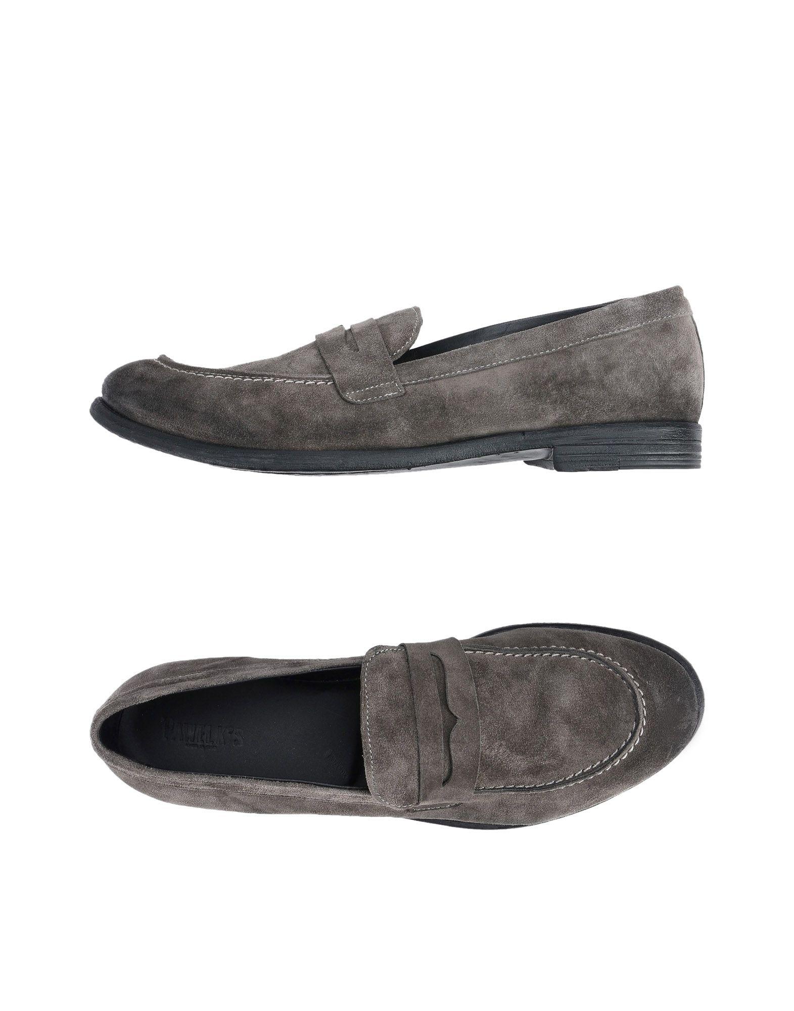 PAWELK'S Loafers in Steel Grey