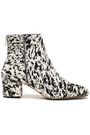 Printed Calf Hair Ankle Boots by Atp Atelier