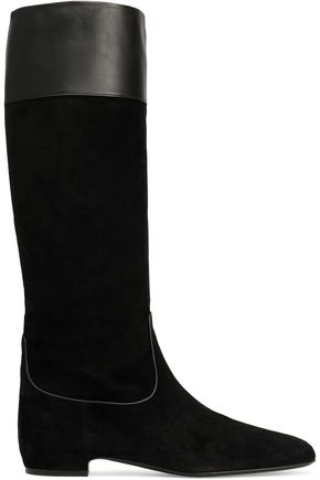 ROGER VIVIER Leather and suede boots