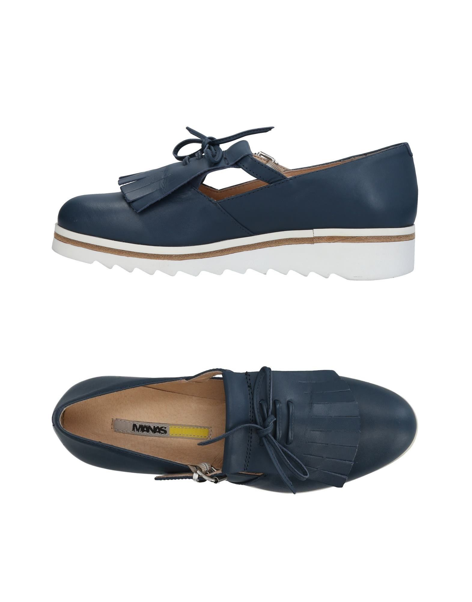 MANAS Loafers in Slate Blue