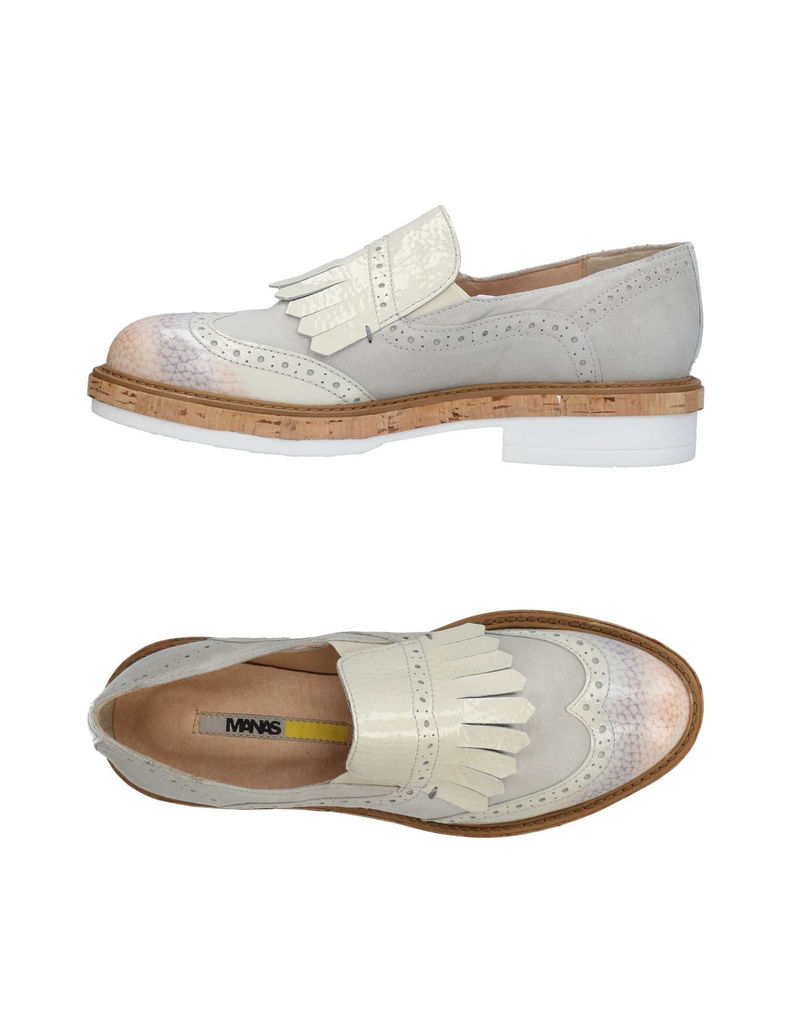 MANAS Loafers in Light Grey