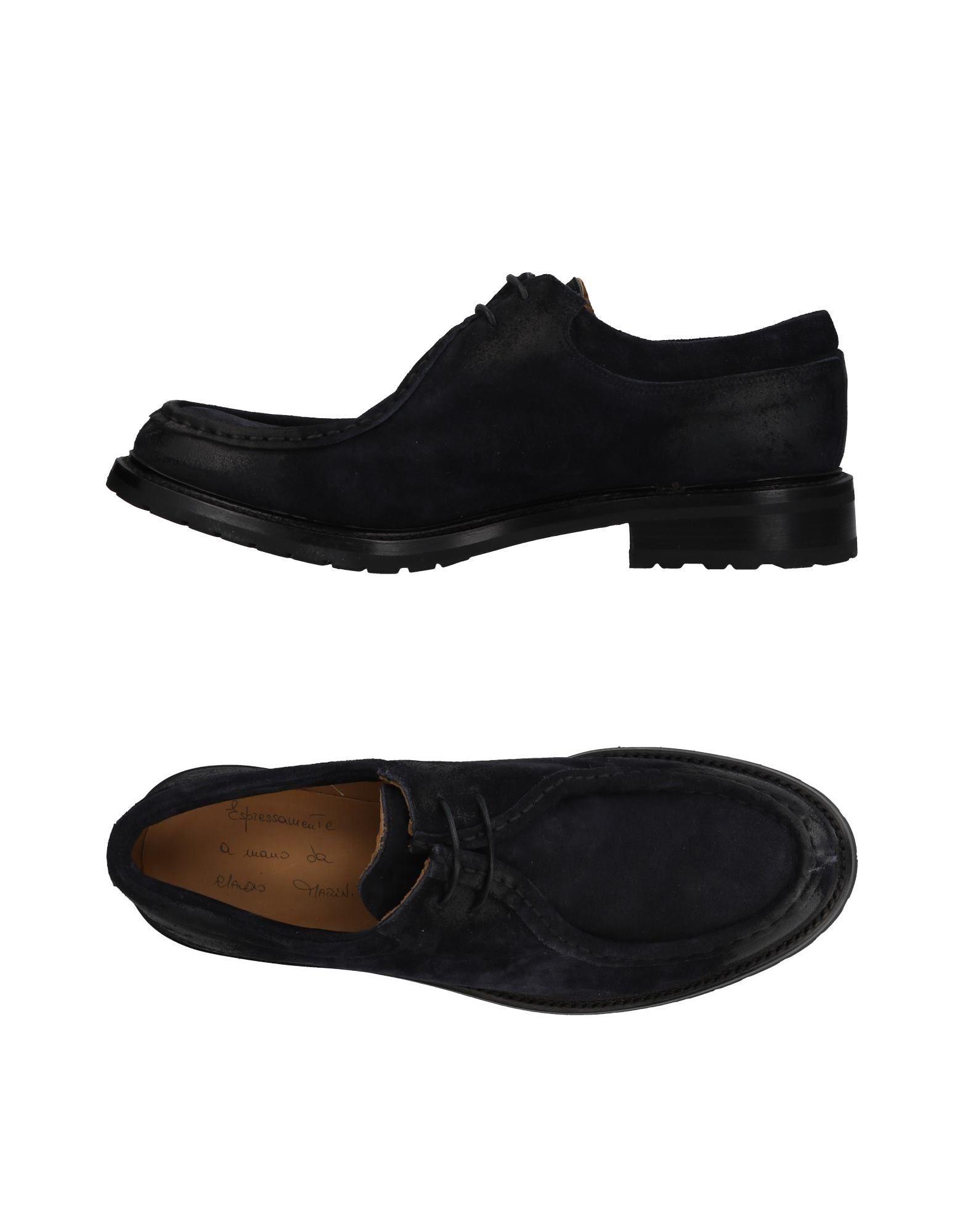 CLAUDIO MARINI Обувь на шнурках кольцо claudio canzian claudio canzian mp002xw0dx3r