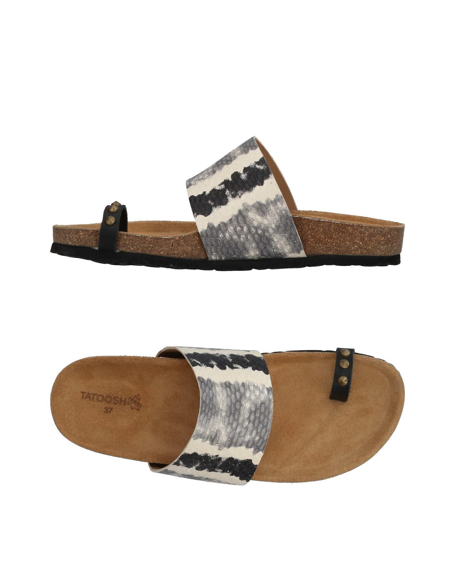 TATOOSH Flip Flops in Grey