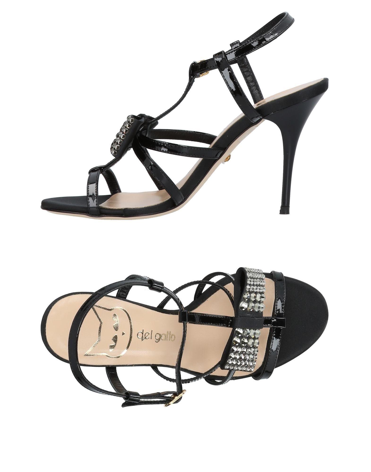 DEL GATTO | DEL GATTO Sandals | Goxip