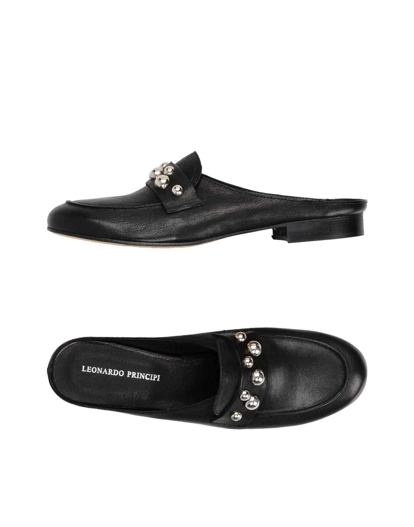 LEONARDO PRINCIPI Мюлес и сабо leonardo principi полусапоги и высокие ботинки