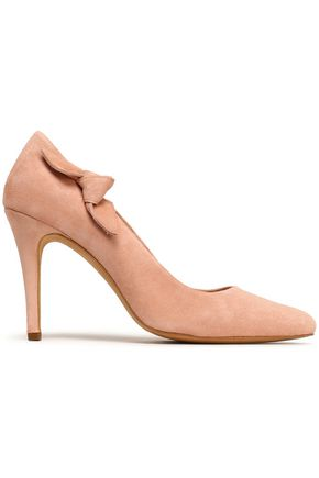 CLAUDIE PIERLOT Knotted suede pumps