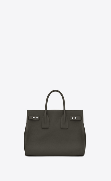 SAINT LAURENT Sac De Jour Supple Woman small sac de jour souple bag in dark khaki grained leather b_V4