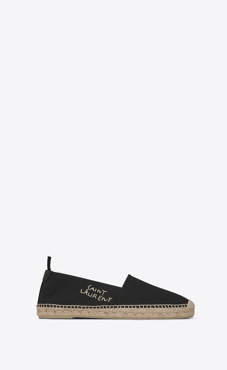 Embroidered cotton espadrilles Saint Laurent cPh2oCHtBF