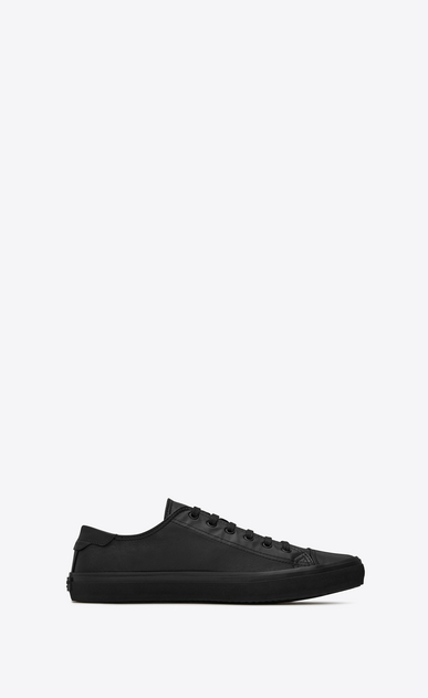 SAINT LAURENT Bedford Woman BEDFORD sneakers in black leather a_V4