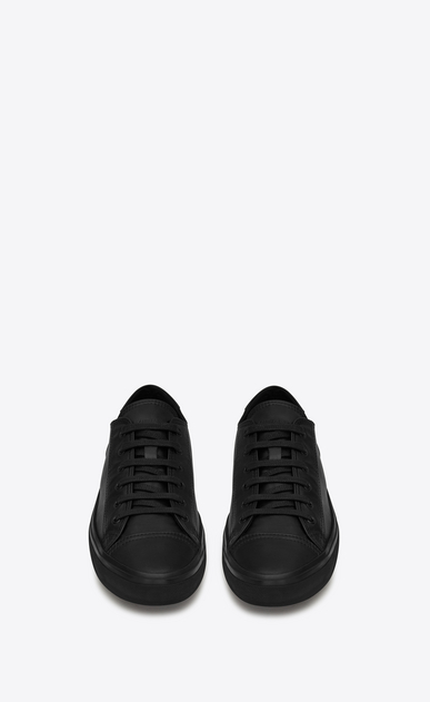 SAINT LAURENT Bedford Woman BEDFORD sneakers in black leather b_V4