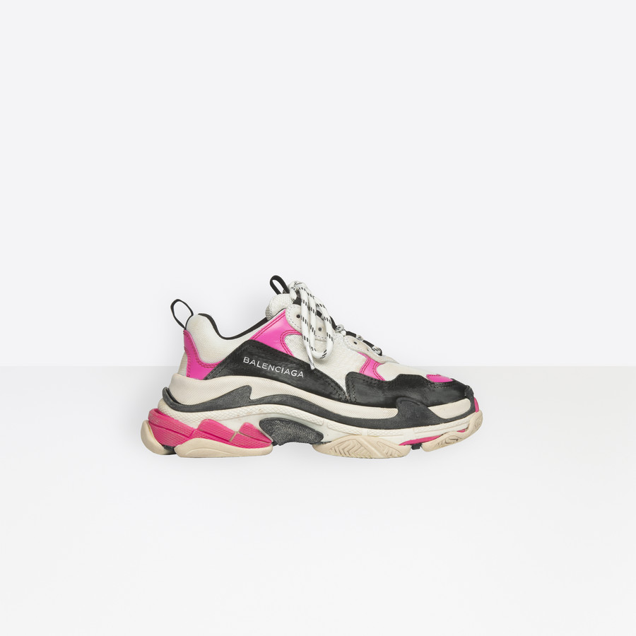 BALENCIAGA Triple S Trainers Triple S Shoes D f