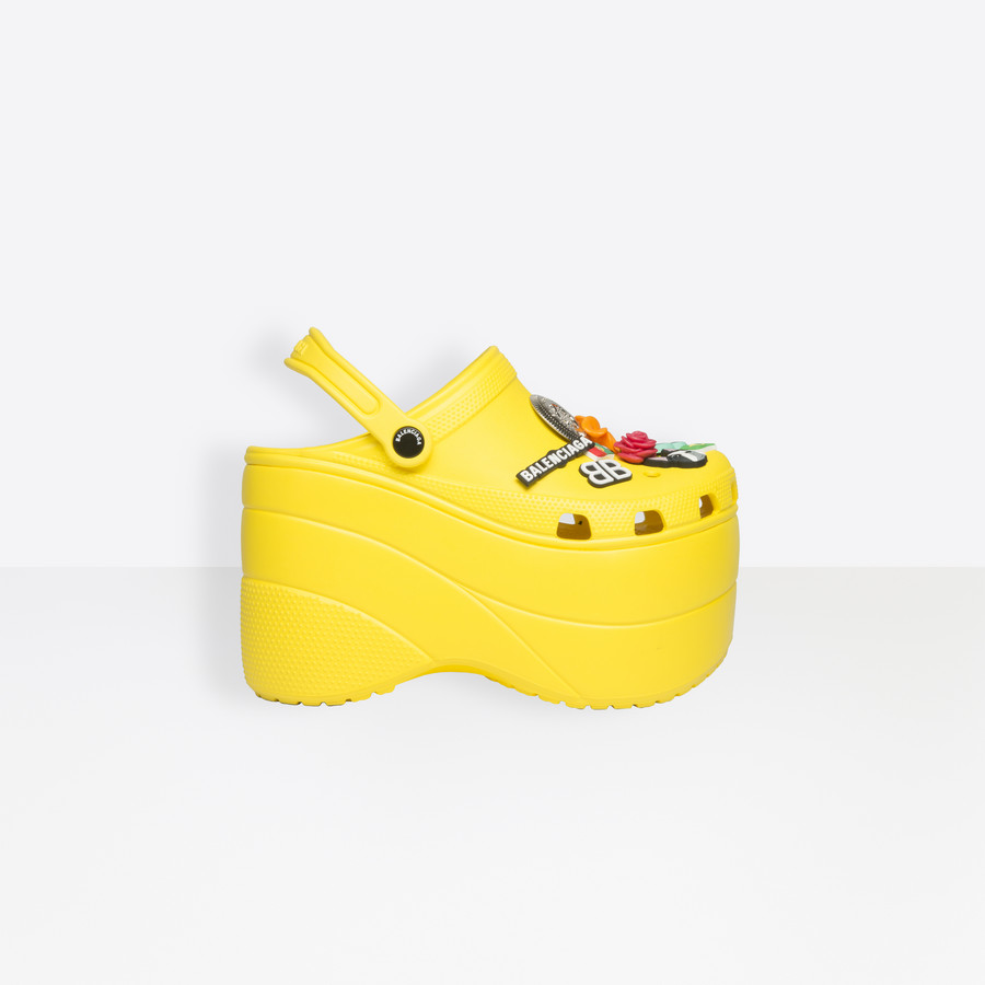 c53614e99bcb Balenciaga is selling platform Crocs because...Fashion