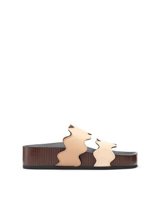 Lauren footbed mule