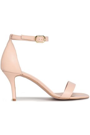 IRIS & INK Blush pink leather sandals