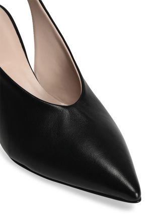 IRIS & INK Cassia leather slingback pumps