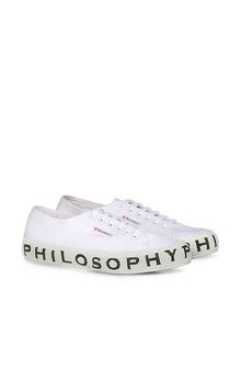 PHILOSOPHY di LORENZO SERAFINI SUPERGA X PHILOSOPHY レディース トータルホワイトSuperga f