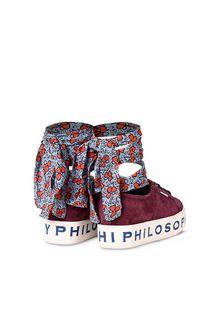 PHILOSOPHY di LORENZO SERAFINI Superga black platform SUPERGA FOR PHILOSOPHY Woman r