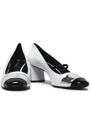 CASADEI Smooth, metallic and patent-leather pumps