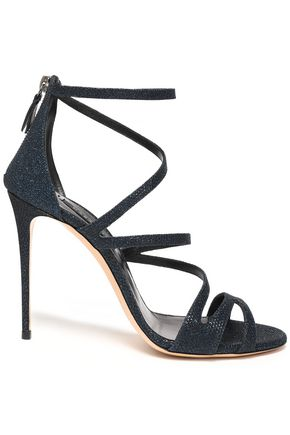 CASADEI Satellite metallic mesh sandals