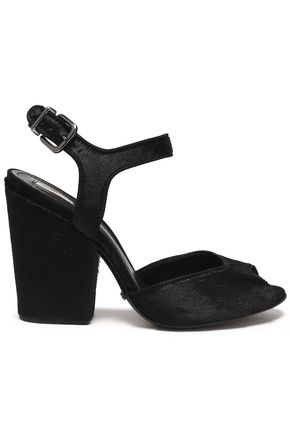 SCHUTZ Calf hair sandals