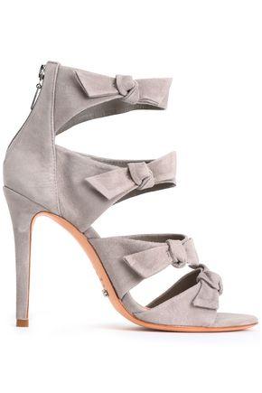 SCHUTZ Knotted suede sandals