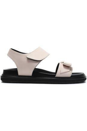 Marni Bow-embellished leather sandals Discount Aaa Buy Cheap Enjoy Cheap With Paypal Free Shipping Top Quality Order Sale Online halLHyW