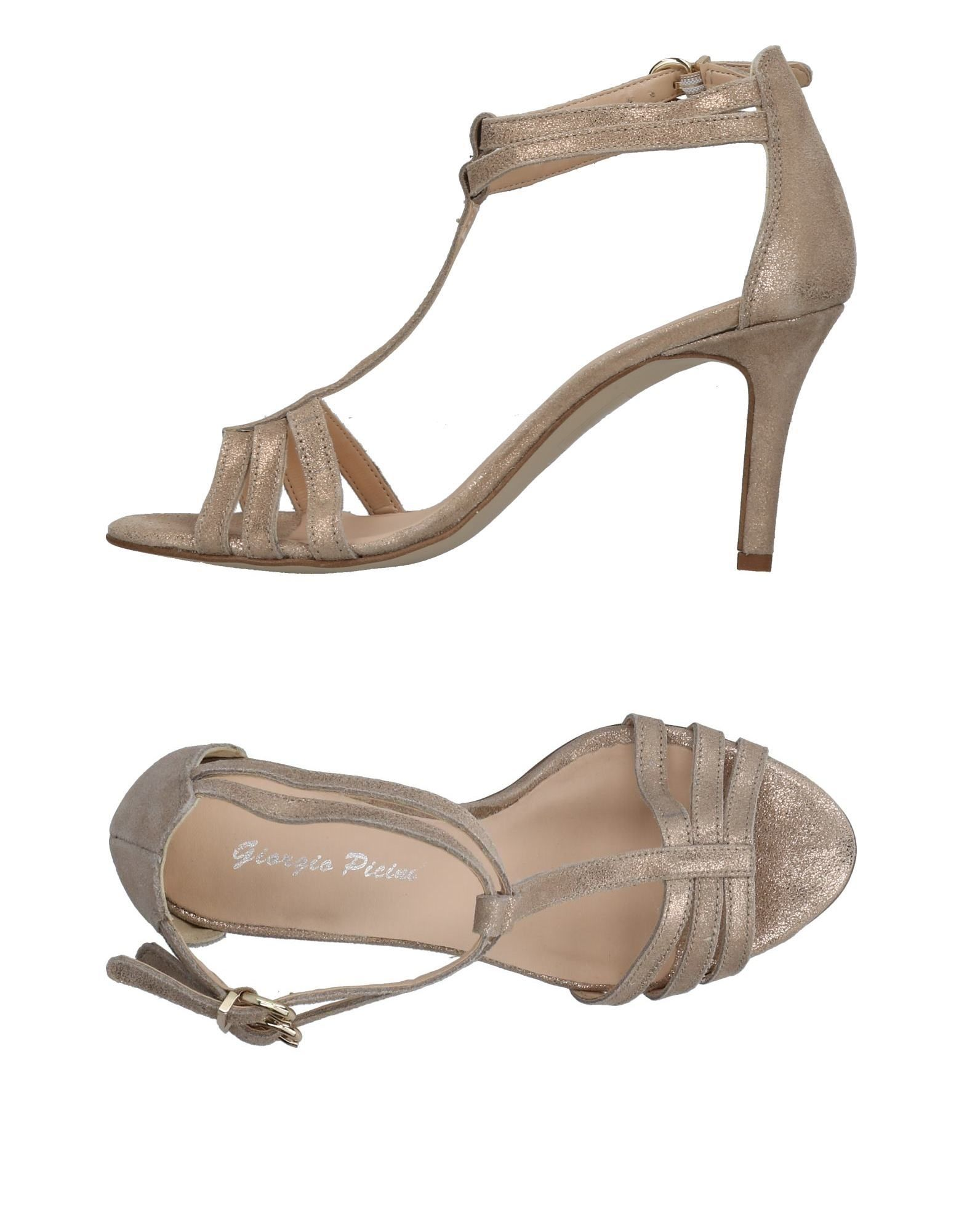 GIORGIO PICINO Сандалии ankle boots giorgio picino ботильоны на толстом каблуке