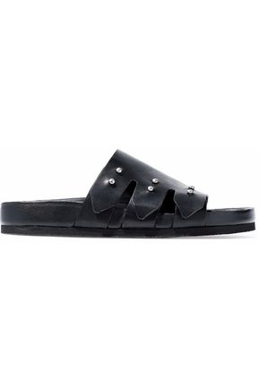 IRO Leather slides