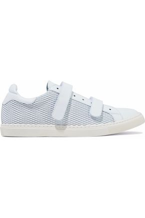 IRO Cutout leather sneakers