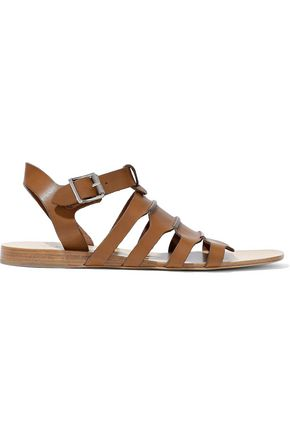 RAG & BONE Paneled leather sandals