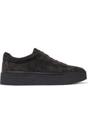 VINCE. Suede platform sneakers