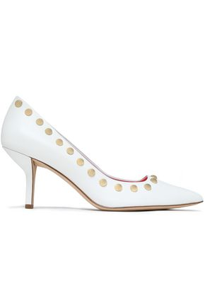 DIANE VON FURSTENBERG Studded leather pumps