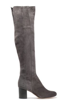 DIANE VON FURSTENBERG Luzzi suede over-the-knee boots